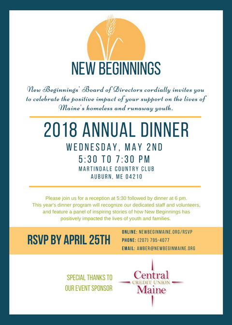 annual dinner invitation